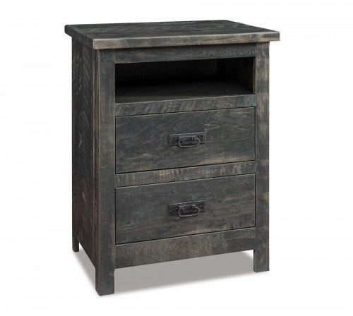 The Dumont-2-drawer-Open-Nightstand From Signature Fine Furnishings