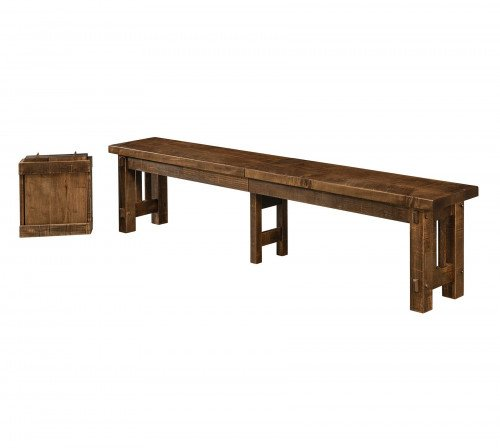 The El Paso Bench From Signature Fine Furnishings