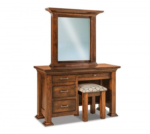 The Empire-Vanity-&-Bench From Signature Fine Furnishings