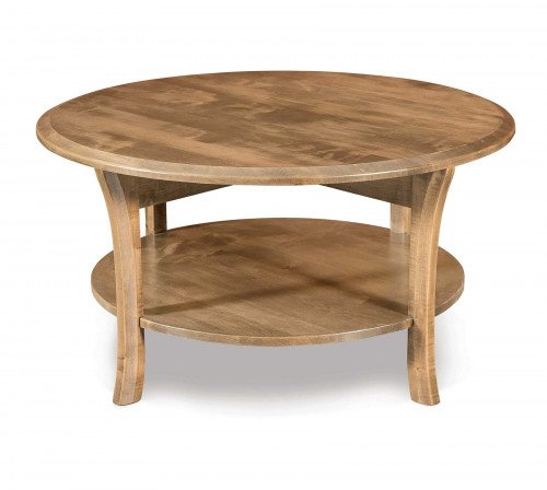 The Ensenada Round Coffee Table From Signature Fine Furnishings