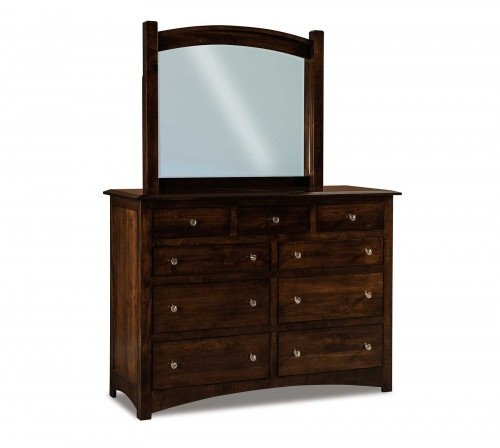 The Finland 59 in. 9 drawer Dresser From Signature Fine Furnishings