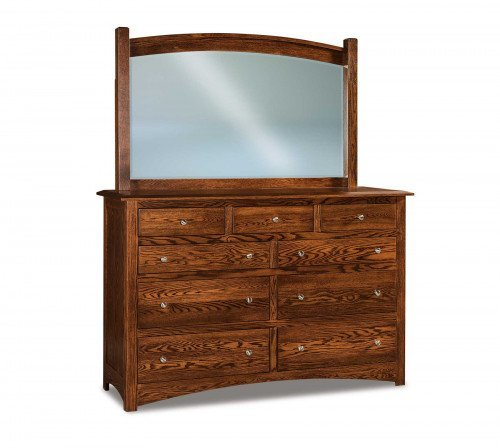The Finland 66 in. 9-drawer Dresser From Signature Fine Furnishings