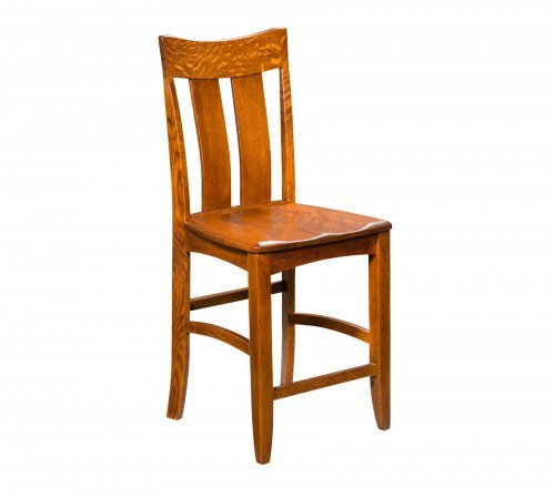 The Galena Stationary Barstool From Signature Fine Furnishings