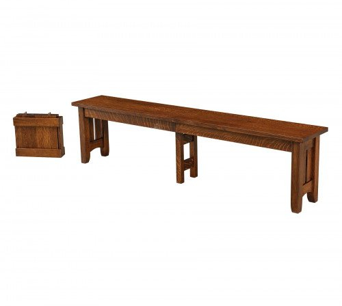 The Galena Bench From Signature Fine Furnishings
