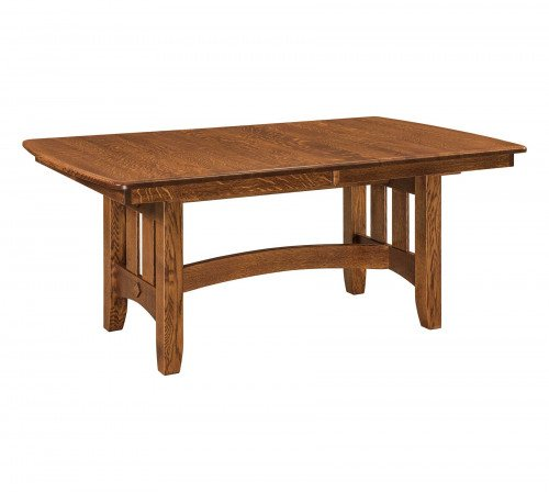 The Galena Trestle Table From Signature Fine Furnishings