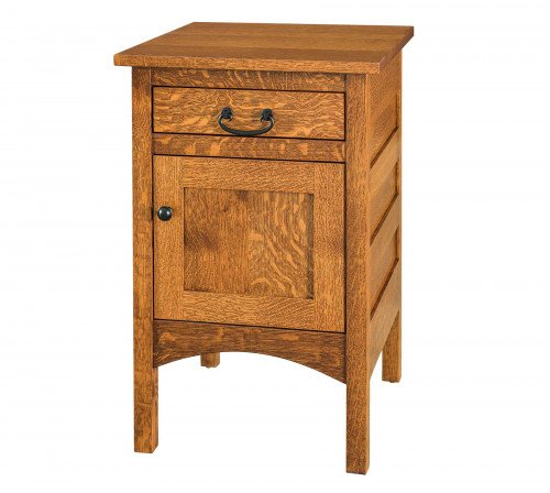 The Granny-Mission-door-drawer-Nightstand From Signature Fine Furnishings