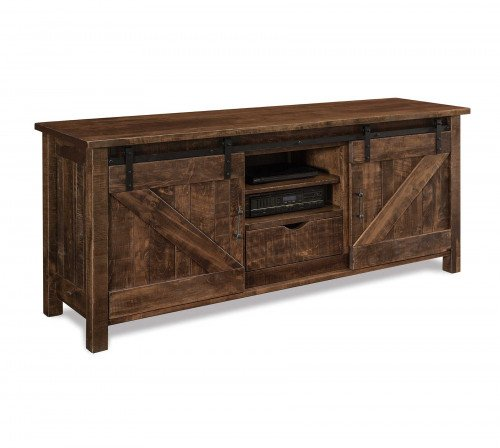 """The Houston 72"""" Entertainment Center with Fireplace From Signature Fine Furnishings"""