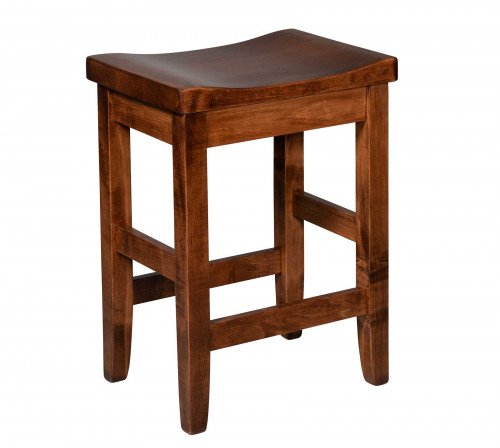 The Hurley Stationary Barstool From Signature Fine Furnishings