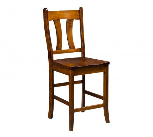 The Imperial Stationary Barstool From Signature Fine Furnishings