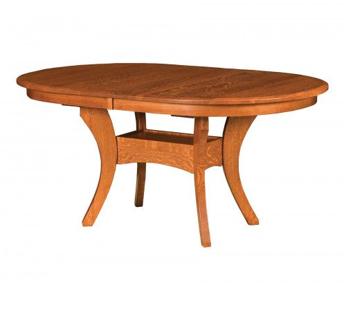 The Imperial Double Pedestal Table From Signature Fine Furnishings