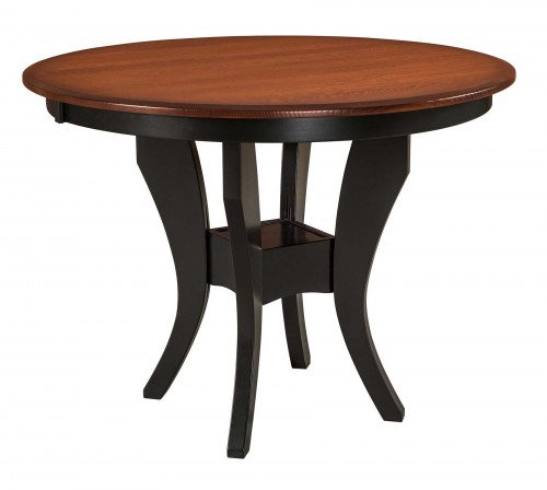The Imperial Single Pedestal Pub Table From Signature Fine Furnishings