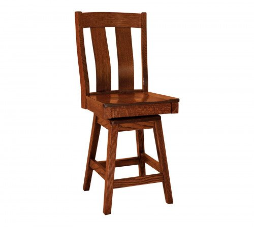 The Laurie Swivel Barstool From Signature Fine Furnishings