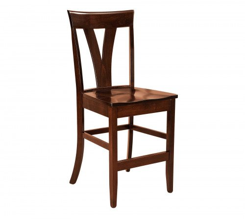 The Levine Stationary Barstool From Signature Fine Furnishings