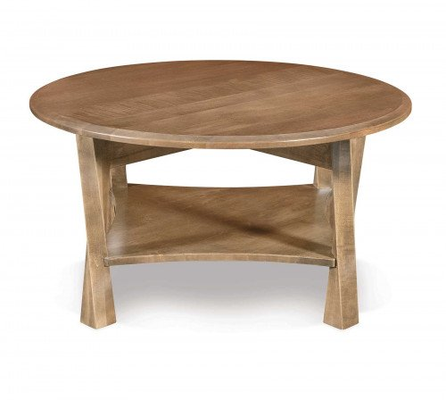The Lexington Arc Round Coffee Table From Signature Fine Furnishings