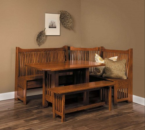 The Mission Nook Set From Signature Fine Furnishings