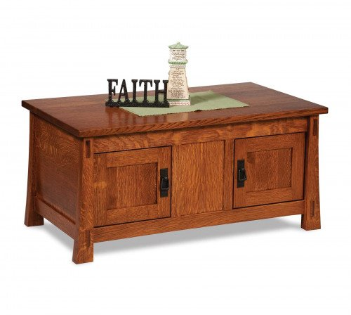 The Modesto Enclosed Coffee Table From Signature Fine Furnishings