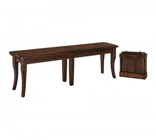 The Newbury Bench From Signature Fine Furnishings