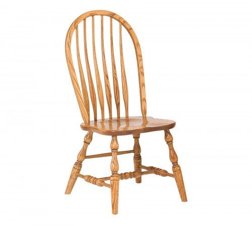 The Bent Feather Bow Side Chair From Signature Fine Furnishings