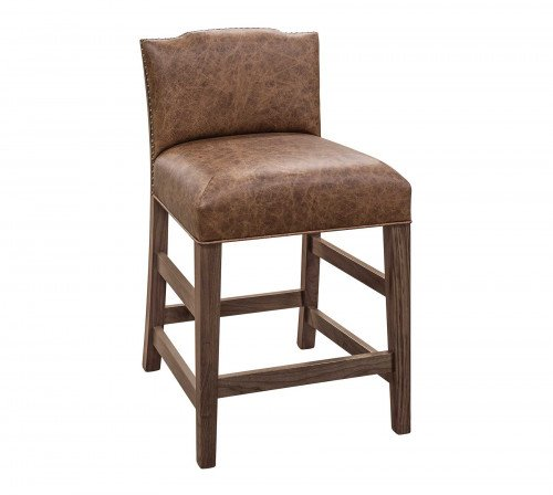 The Bow River Stationary Barstool From Signature Fine Furnishings