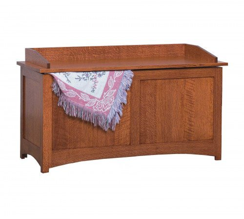 The Schwartz Mission Blanket Chest From Signature Fine Furnishings