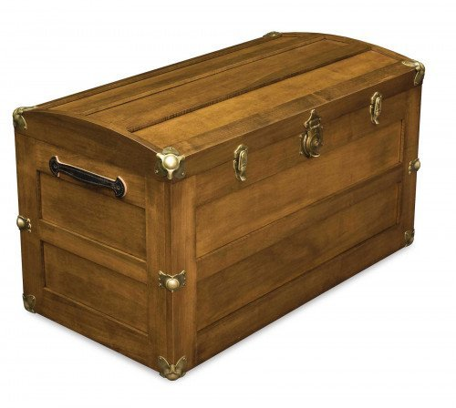 The Trunk with Rounded Lid From Signature Fine Furnishings