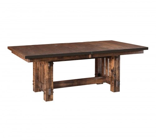 The El Paso Trestle Table From Signature Fine Furnishings