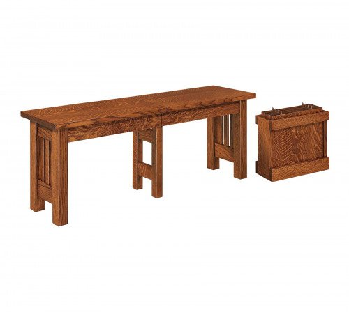 The Mission Bench From Signature Fine Furnishings