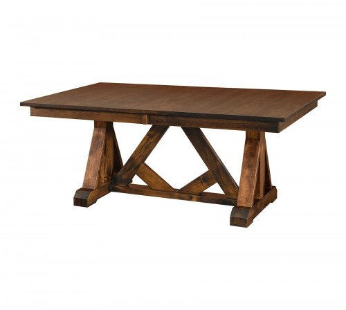 The Bailey Trestle Table From Signature Fine Furnishings
