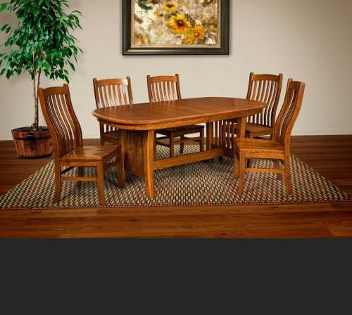The Arts and Crafts Setting From Signature Fine Furnishings