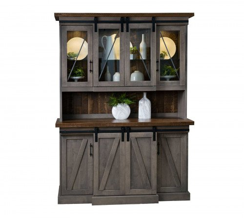 The Avalon Enclosed Hutch From Signature Fine Furnishings