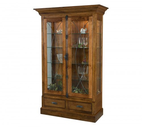 The Barstow Curio From Signature Fine Furnishings