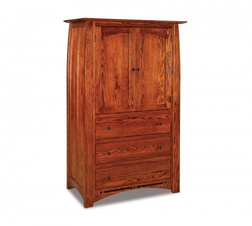 The Boulder Creek 3 drawer Armoire From Signature Fine Furnishings