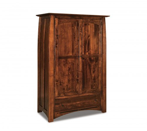 The Boulder Creek Wardrobe Armoire From Signature Fine Furnishings