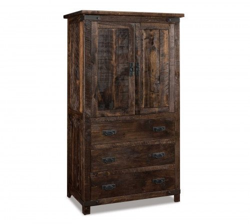 The Ironwood 3-drawer Armoire From Signature Fine Furnishings