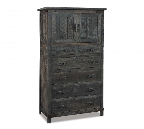The Ironwood Chest Armoire From Signature Fine Furnishings