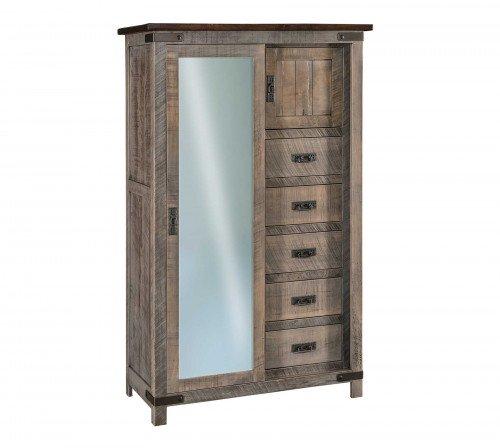 The Ironwood Sliding Door Chifferobe From Signature Fine Furnishings