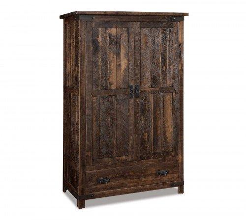 The Ironwood Wardrobe Armoire From Signature Fine Furnishings