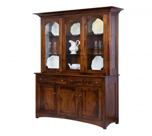 The Royal Mission 3-door Hutch From Signature Fine Furnishings